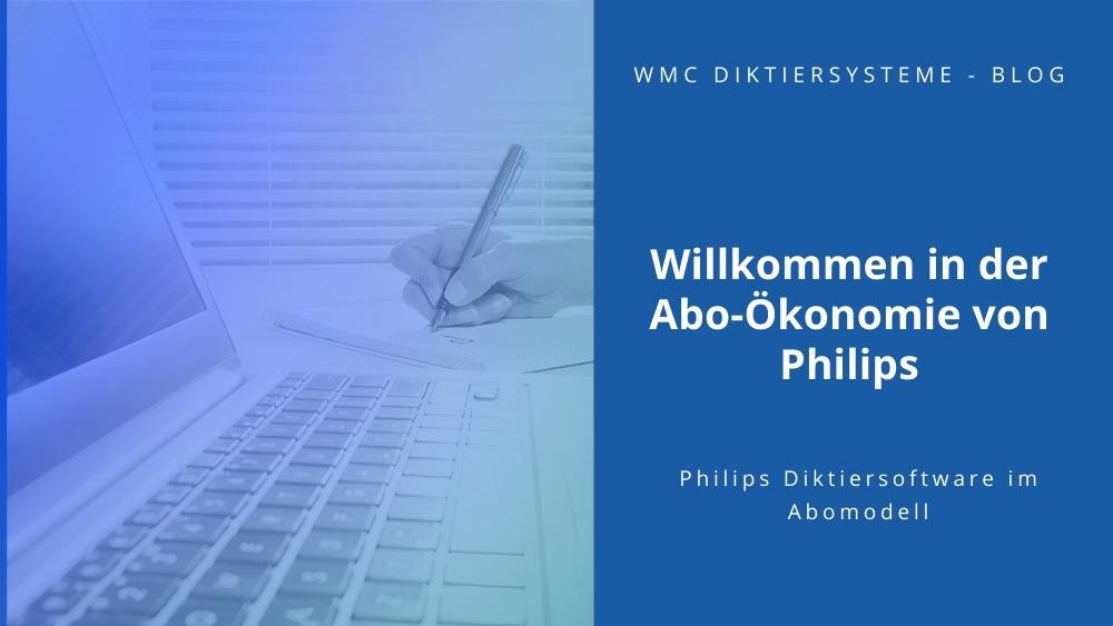 Willkommen in der Abo-Ökonomie von Philips